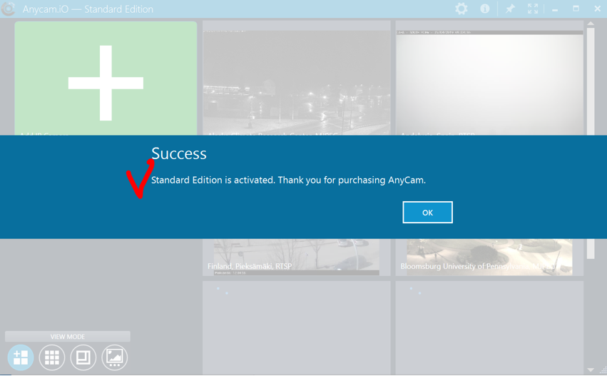 AnyCam License Key activation